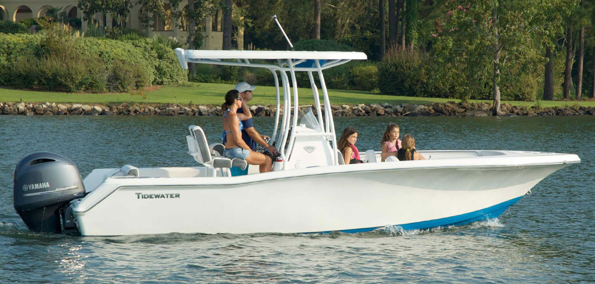 tidewater boats � expect more