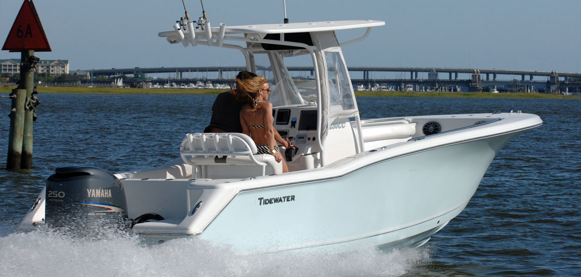 Tidewater boats expect more for Tidewater 230 for sale